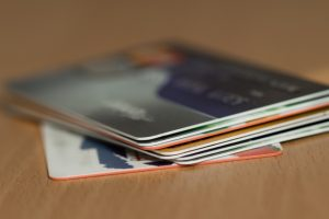 クレジットカードがたくさん